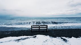 Vinter i Sochi Royaltyfri Fotografi