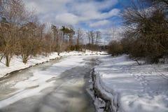 Vinter i Toronto Arkivfoton