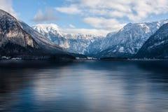 Vinter lake Royaltyfria Foton