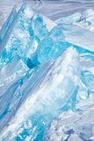Vinter Lake Baikal royaltyfri bild