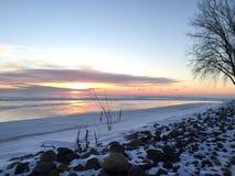 Vinter på Royaltyfri Fotografi