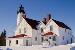 Vinter på ljuset Fotografering för Bildbyråer