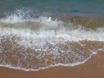 Vinter på stranden arkivfoton