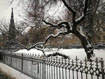 Vinter Prague 2016 Arkivfoto