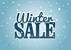 Vinter Sale vektor illustrationer