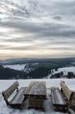 Vinter Sauerland Royaltyfri Fotografi