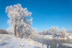 Vinter vinter-tidvatten, vinter-Time Arkivfoto