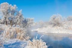 Vinter vinter-tidvatten, vinter-Time Arkivbilder