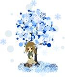 Vinter tree-3 Royaltyfri Fotografi