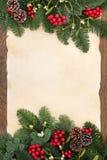 Vinterabstrakt begreppgräns Royaltyfri Bild
