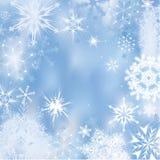 Vinterbakgrund Royaltyfri Fotografi