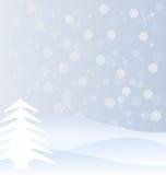 Vinterbakgrund Arkivbild