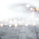 Vinterbakgrund för jul Arkivfoton