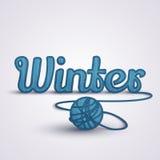 Vinterbegreppsrät maska Arkivfoton