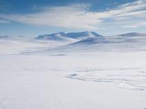 Vinterberglandskap Royaltyfri Fotografi