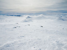 Vinterberglandskap Arkivfoton