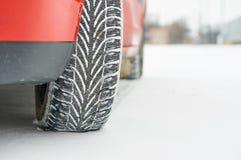Vinterdäck arkivfoto