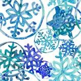 Vinterdag med första snö royaltyfri illustrationer