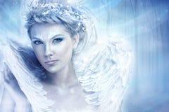 Vinterdrottning Fotografering för Bildbyråer