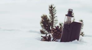 Vinterdunst Royaltyfri Foto