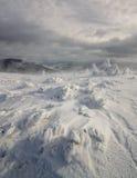Vinterdvala. Carpathian Ukraina. Royaltyfri Foto