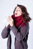 Vinterförkylning Royaltyfria Bilder