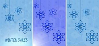 Vinterförsäljningar Arkivfoto