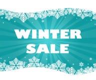 Vinterförsäljningstitel Royaltyfri Bild