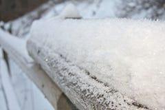 Vinterfattande Arkivfoton