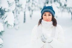 Vinterflicka Royaltyfria Foton