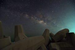 Vintergatan över Dolosse Fotografering för Bildbyråer
