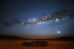 Vintergatan fotografering för bildbyråer