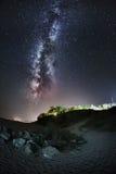 Vintergatan Arkivfoton