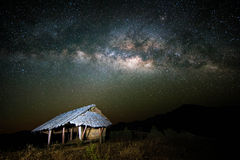 Vintergatan Arkivfoto