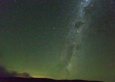 Vintergatan i Drakensberg Sydafrika Royaltyfri Foto