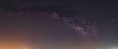 Vintergatan i Thailand Arkivbild