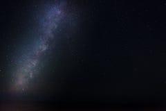 Vintergatan på Majjistral parkerar Royaltyfria Foton