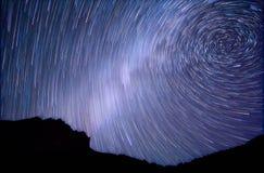 Vintergatan spiral Fotografering för Bildbyråer