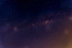 Vintergatangalax Royaltyfri Foto