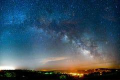 Vintergatanstigning Arkivfoton