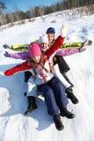 Vintergyckel Fotografering för Bildbyråer