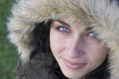 vinterkvinna Royaltyfri Fotografi