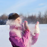 vinterkvinnor Royaltyfri Fotografi