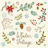 Vinterlövverk Royaltyfri Bild