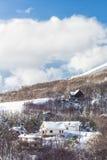 Vinterlandascape Fotografering för Bildbyråer