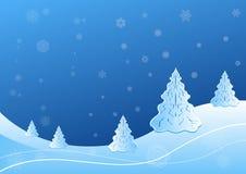 Vinterlandskap Royaltyfri Fotografi