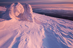 Vinterlandskap Royaltyfria Bilder