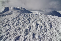 Vinterlandskap av berg Royaltyfri Foto