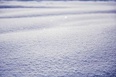 Vinterlandskap med snötextur royaltyfri fotografi