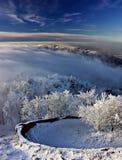 Vinterlanscape Arkivbild